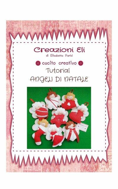 TUTORIAL ANGELI PER L'ALBERO DI NATALE IN PANNOLENCI