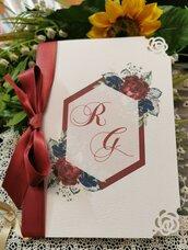 Libretto Messa con fiori porpora