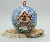 Christmas decorations / Ceramic Christmas balls