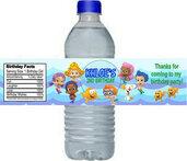 Set di 20 Etichette Personalizzate per Bottiglie d' Acqua per Party a tema, compleanni matrimoni, eventi..