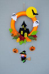 Fuoriporta Halloween streghetta, 50 x 26 cm