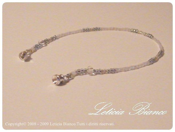 "Art 4504 Bracciale ""Bianco Cristal"""