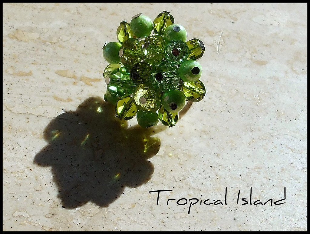 Anello '' Tropical Island''