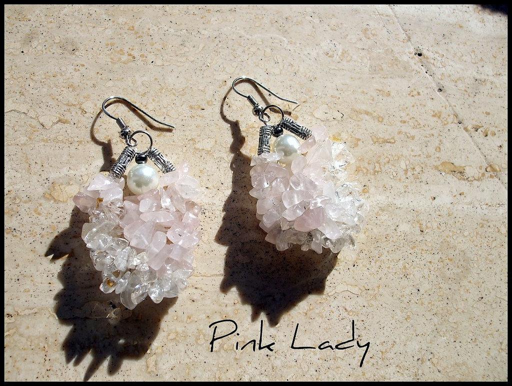 Orecchini ''Pink Lady''