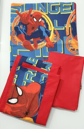 Completo lenzuola brandina scuola Spiderman