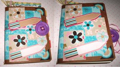 Idea Regalo! Mini Quaderno porta Appunti - Sweet Flowers^^