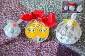 Sfera natalizia con la propria foto idee regalo fatte a mano, Addobbo natalizio Il mio Primo natale, bomboniere nascita fimo, bomboniera primo compleanno, bomboniera famiglia in fimo,