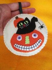 Halloween - gatti neri & zucche