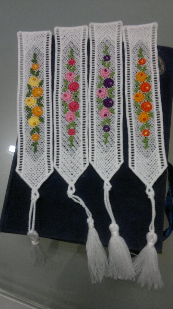 Segnalibro fiorellini
