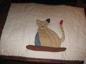 Tovaglietta americana Gatto sul cuscino