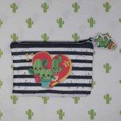 mini pochette cactus