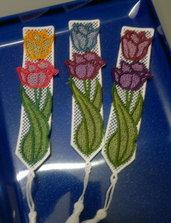 segnalibro tulipani