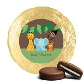 Set Tavolo coordinato bigliettini,etichette,cioccolatini per compleanno festa party evento tema GIUNGLA SAFARI ANIMALI SAFARI