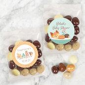 Bustine sacchetti segnaposto regalino personalizzato ringraziamento fine serata confetti caramelle compleanno nozze battesimo nascita