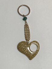 Portachiavi Gold Heart