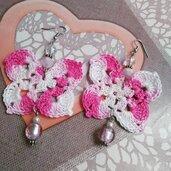 Orecchini farfalla sfumata