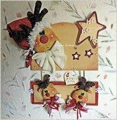 Cartamodello Rudolph e i suoi cuccioli