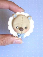 Calamita Orso orsetto nascita battesimo compleanno bomboniere bomboniera