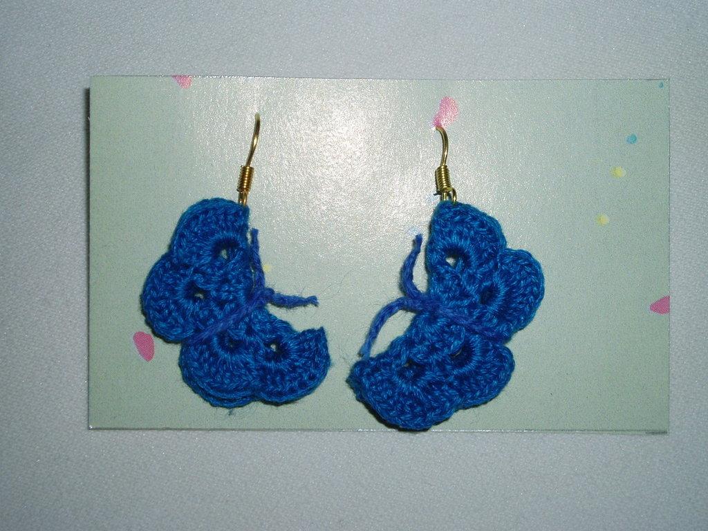 Monachelle farfalle azzurre