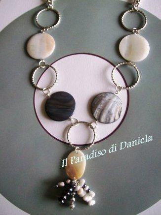 collana madreperla/ mother of pearl necklace