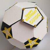 Pallone da calcio 3d box