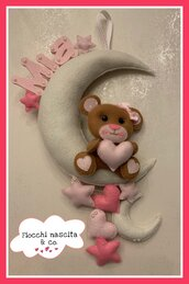 Fiocco nascita sweet bear
