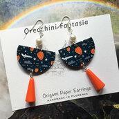 orecchini pendenti fantasia mongolfiere