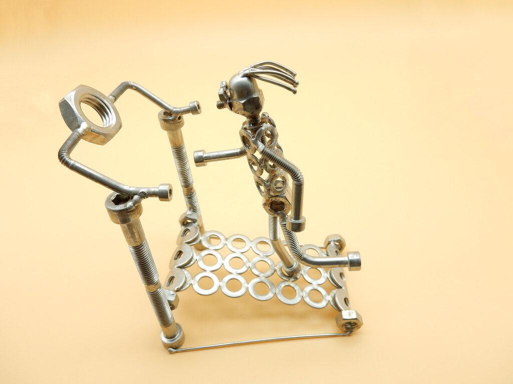 corridore regalo per corridore podististica corsa sport regalo regalo atletica atleta regalo scrap metals maratona maratoneta