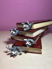 Segnalibro uncinetto topolino amigurumi