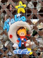 Fiocco Nascita Piccolo Principe- con luci led Personalizzato