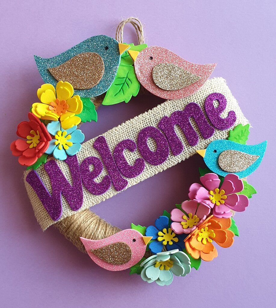 Ghirlanda fuoriporta Welcome