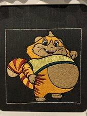 Toppa patch Polpetta Buffycats, 44 gatti.