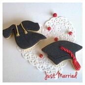 Biscotti decorati,  tocco,  laurea