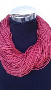 Collane in lana