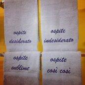 set asciugamani idea regalo
