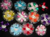 Horquillas Hello Kitty