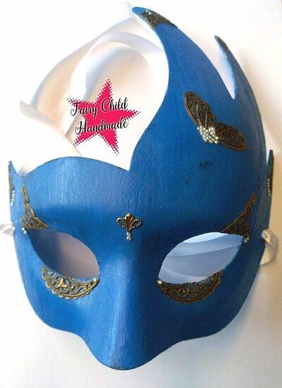 """Maschera per carnevale """"fregio"""""""