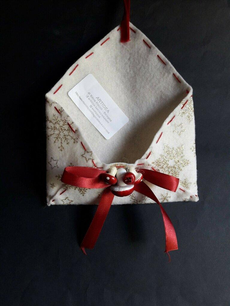 Cartamodello lettera Natale
