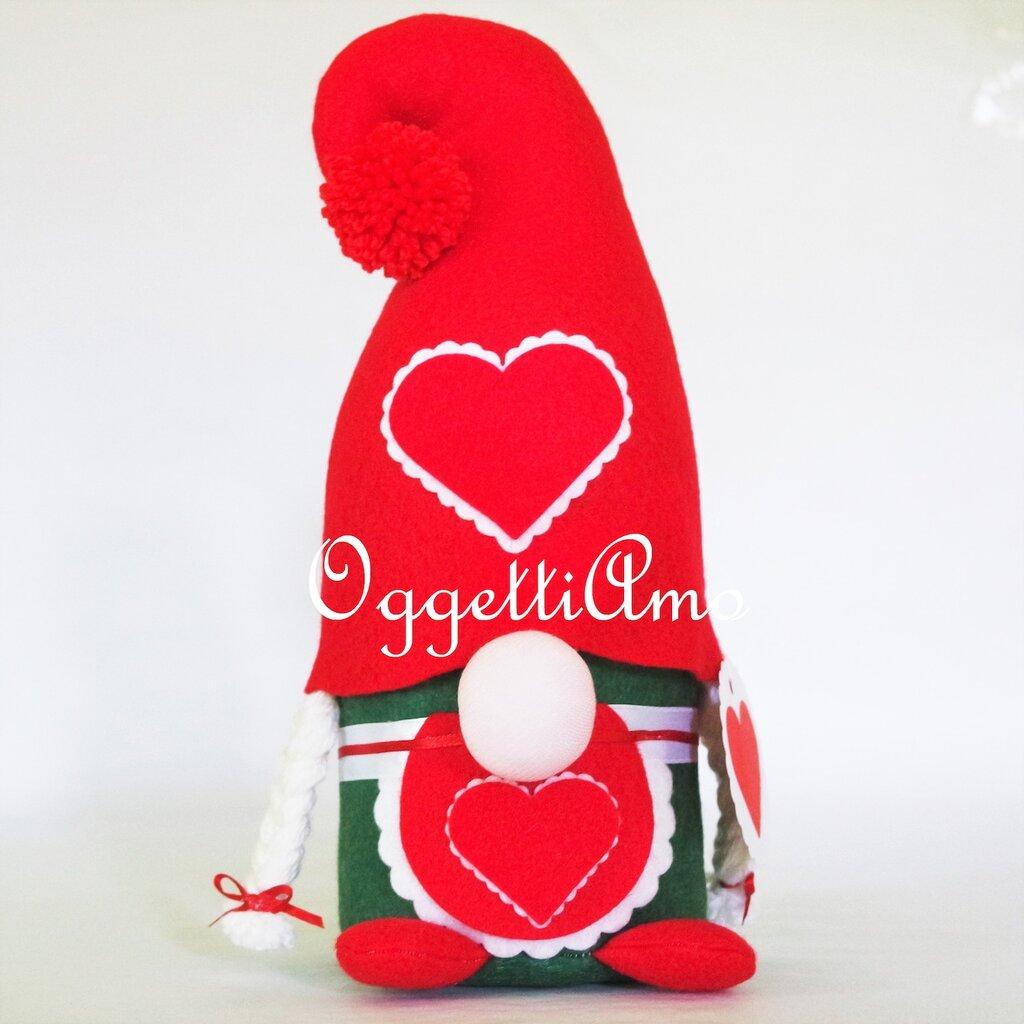 Anche una gnomo ha bisogno di una compagna: un fermaporta come idea regalo in occasione del Natale!
