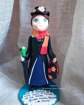 Statuina Mary Poppins- idea regalo maestra