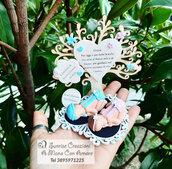 Bomboniera bebè ed albero del vita per madrina o padrino