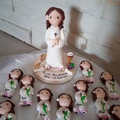 Cake Topper comunione- pattinatrice