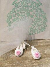 Bomboniera scarpina miniatura