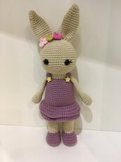 Bambolina Mrs Bunny amigurumi