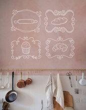 Adesivi Bakery per cucina set da 4