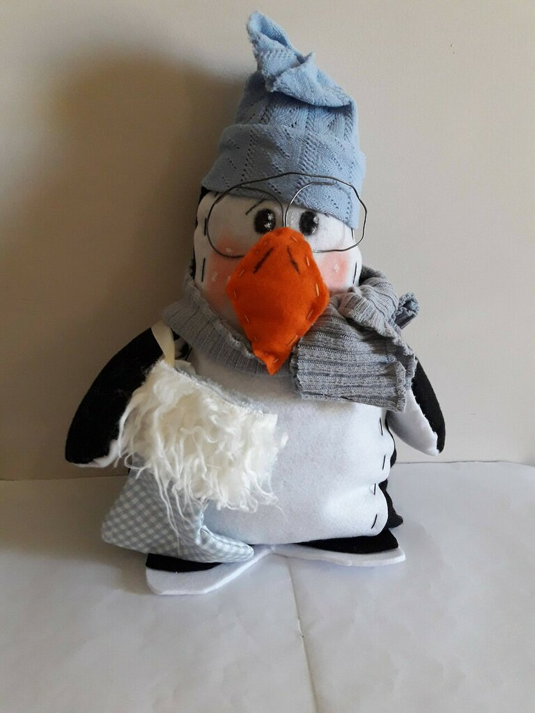 Cartamodello pinguino Freddy