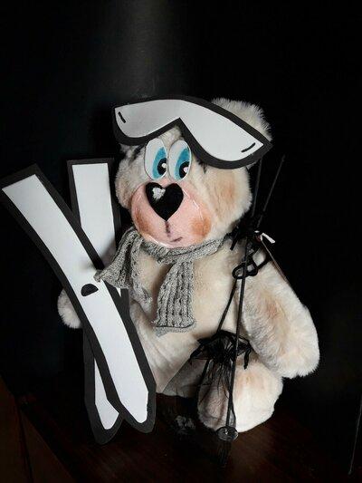 Cartamodello orso Bernie