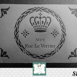 """S1 ghirlanda shabby """"Rue le Verrier"""""""