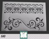 S10 stencil bordure