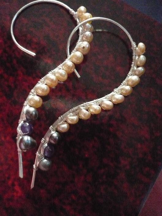 SU ORDINAZIONE/MADE TO ORDER Onda Earrings Free Shipping/Spedizioni gratuite